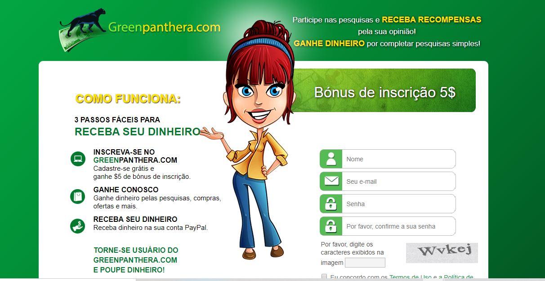 Greenpanthera site que paga recompensas pelo Paypal - Como Ganhar Dinheiro no Paypal Todo Dia de Forma Fácil