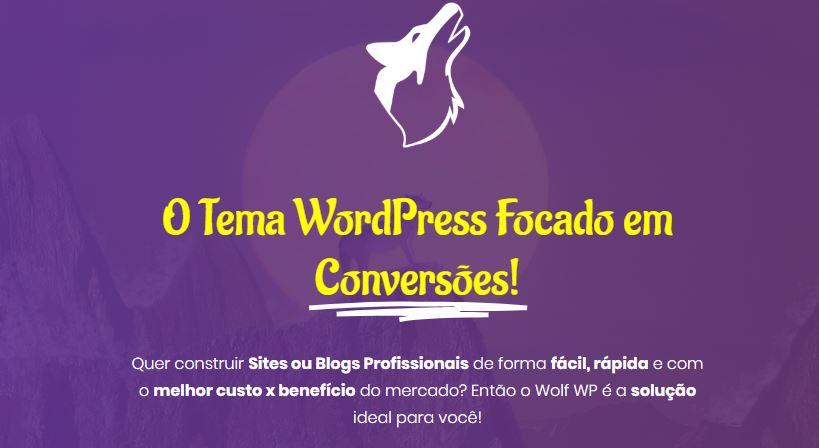 Tema para conversões wolf wp - Melhores Temas Wordpress Grátis em 2020 Por Categorias de Sites
